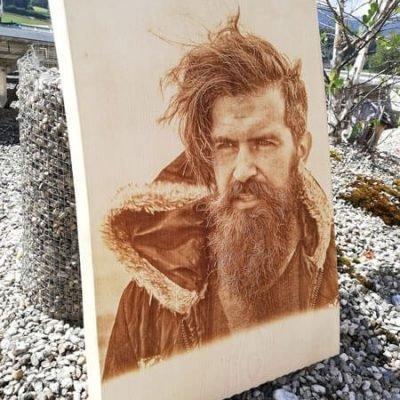 Mann mit Bart © KLENKdesign