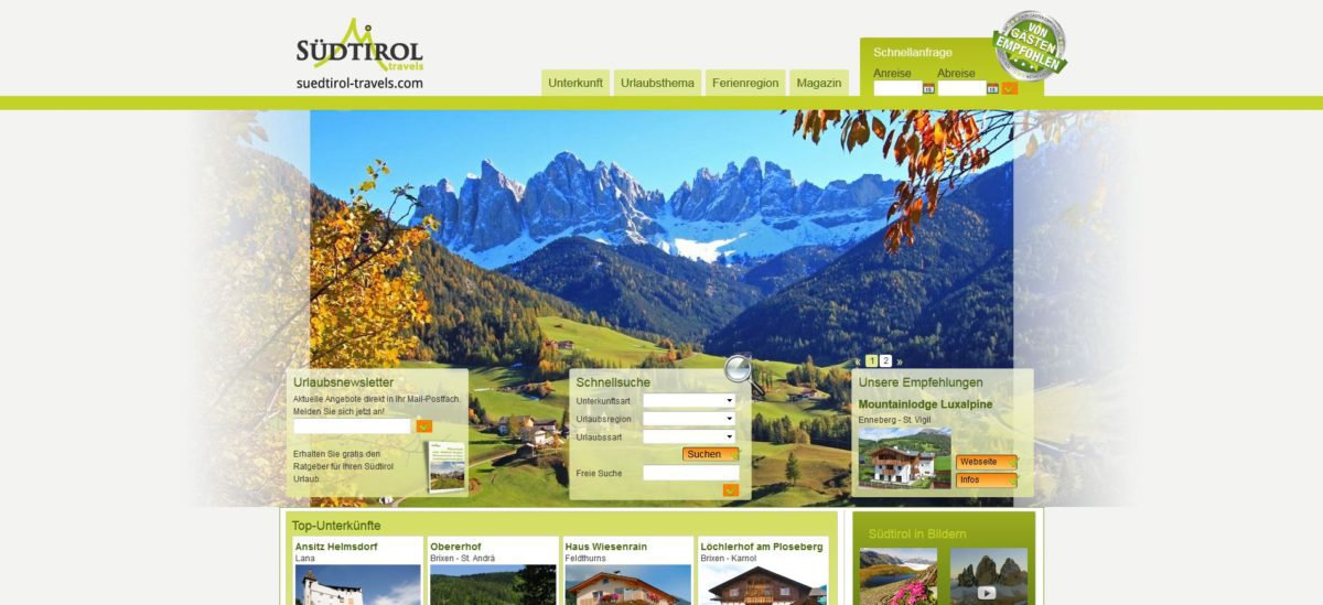 Südtirol travels